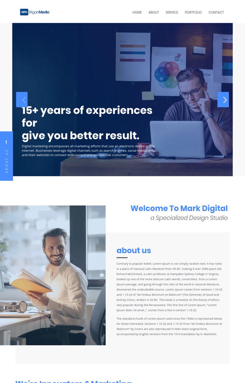 Digital Marketing Agency Template