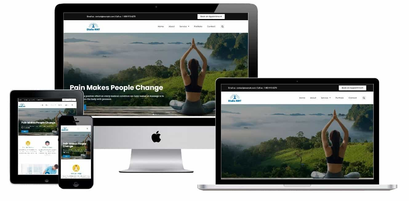 Yoga Homepage Template