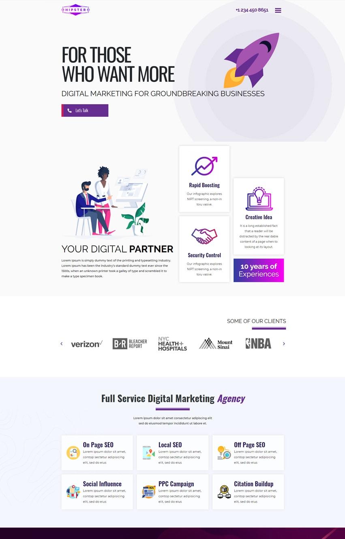 SEO-Agency-Template