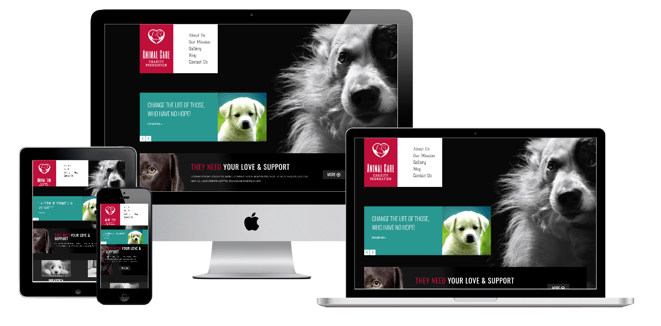 Animal Care Elementor Template