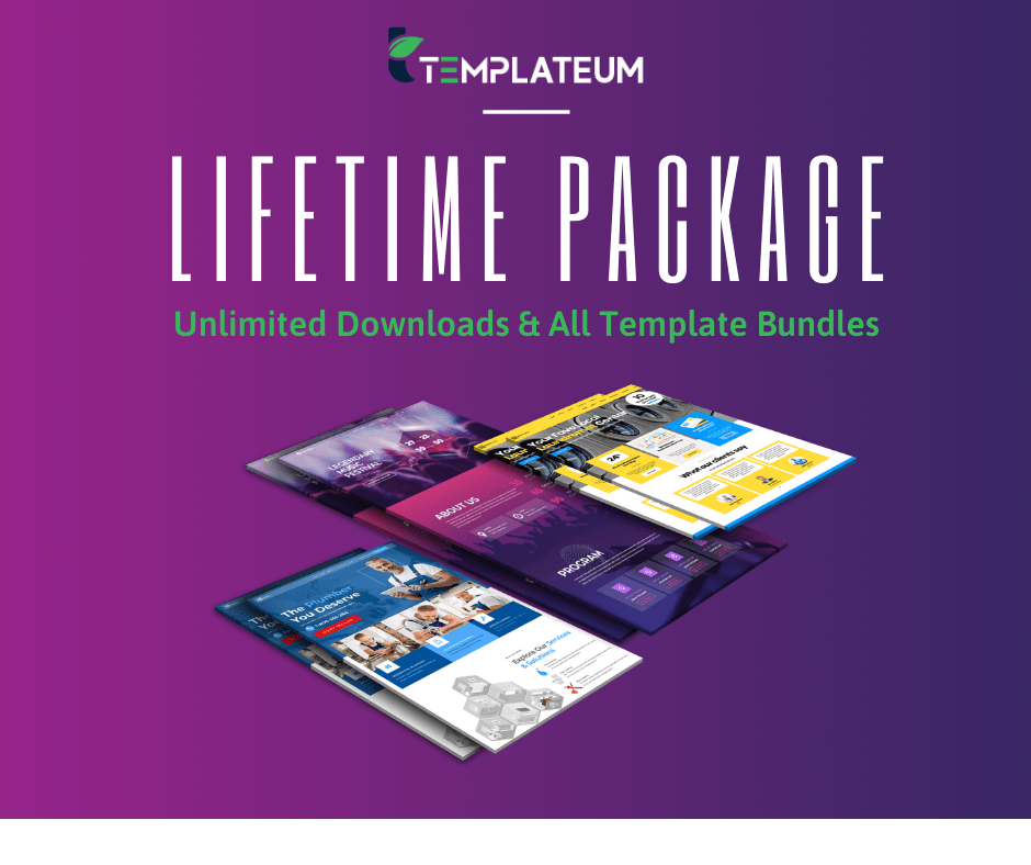 All Access Lifetime Membership for Templateum