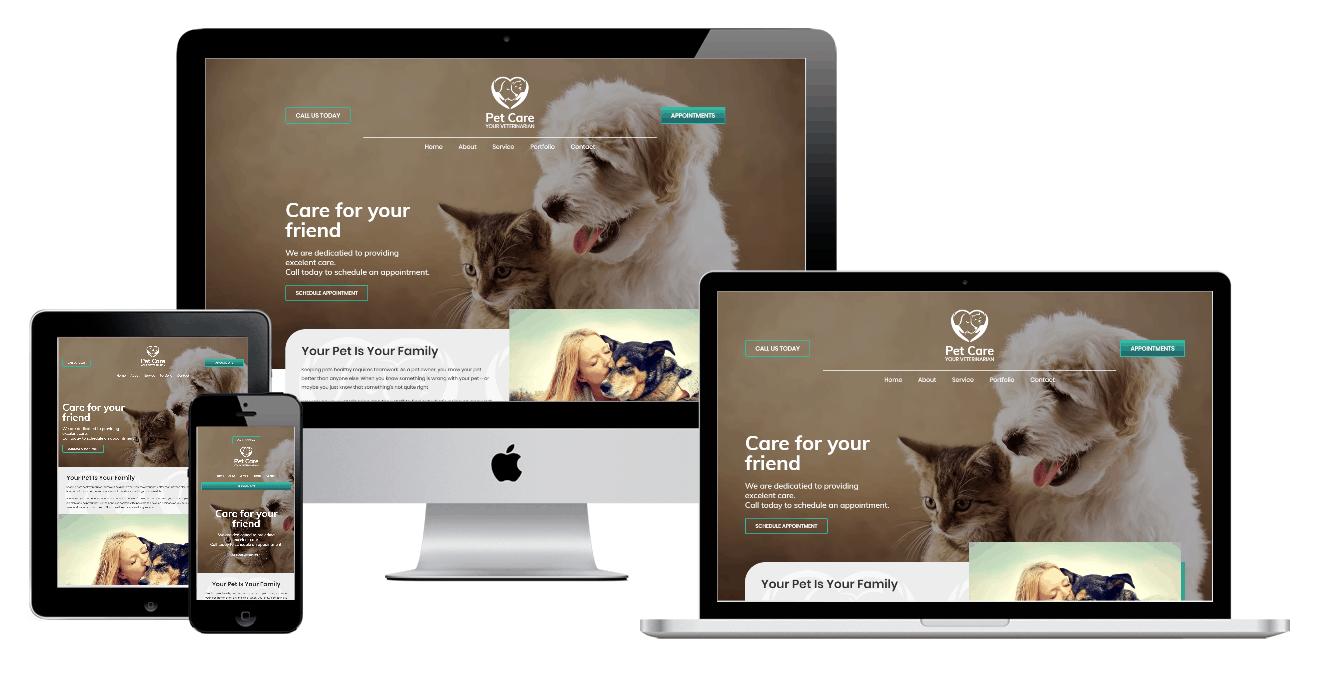 Pet Care Elementor Pro Template